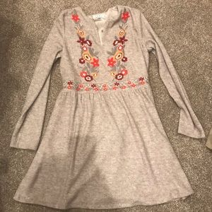 THML embroidered dress large